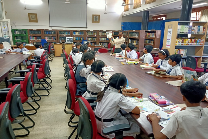 Demonstration School-Library