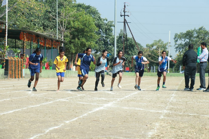 Demonstration School-Sports Running