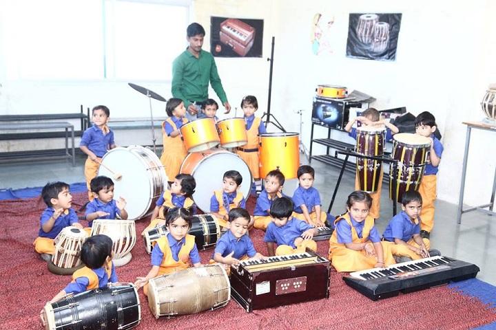 Devi Rukmani Higher Secondary School-Music Room