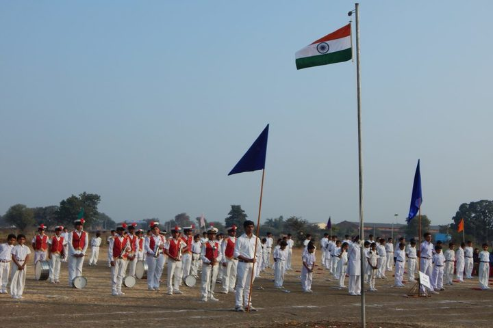Dinah Convent High School-Republic day
