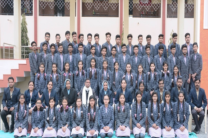 Dinah Convent High School-Students