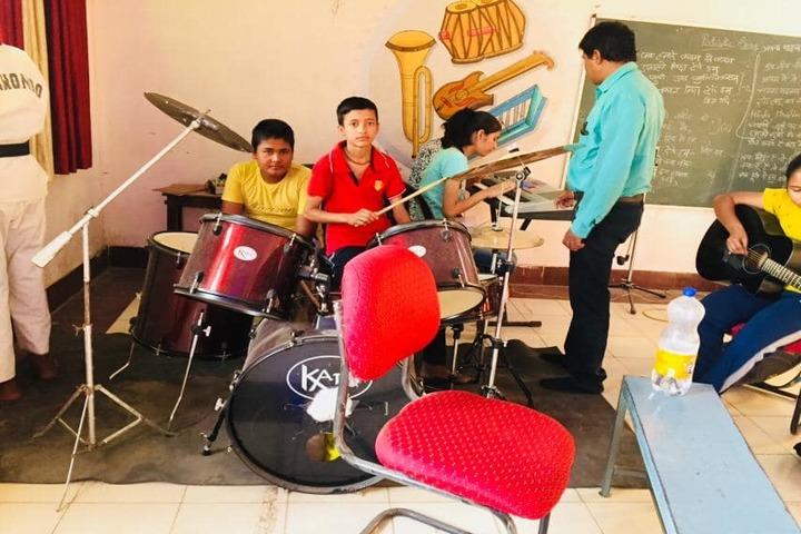 Ebenezer Higher Secondary School-Music Class