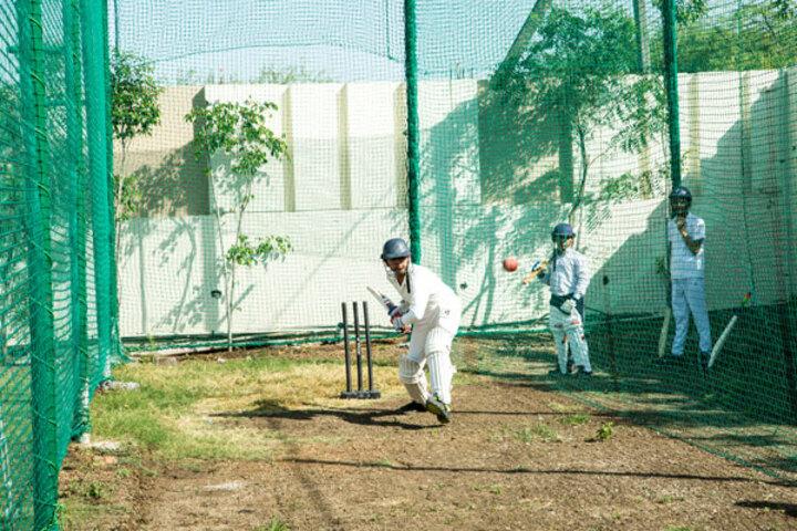 Ekayanaa School-Cricket