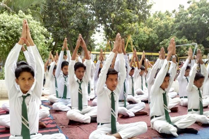 Acharya Narendra Deo Public School-Yoga
