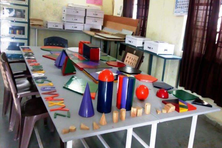 Eklavya Model Residential School-Maths Lab