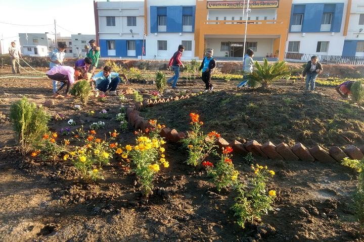 Eklavya Model Residential School-Others plantation