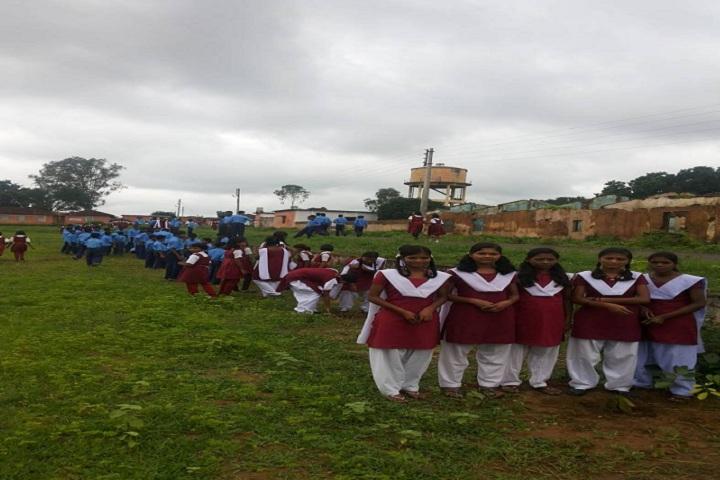 Eklavya Model Residential School-Others tree plantation
