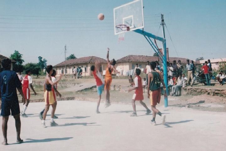 Eklavya Model Residential School-Sports volleyball