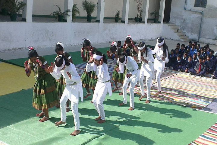 Eklavya Model Residential School-Events dance