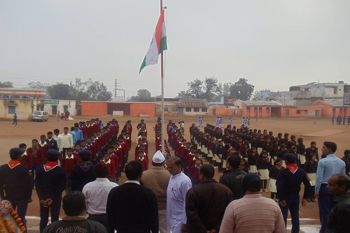 Eklavya Model Residential School-Events republic day