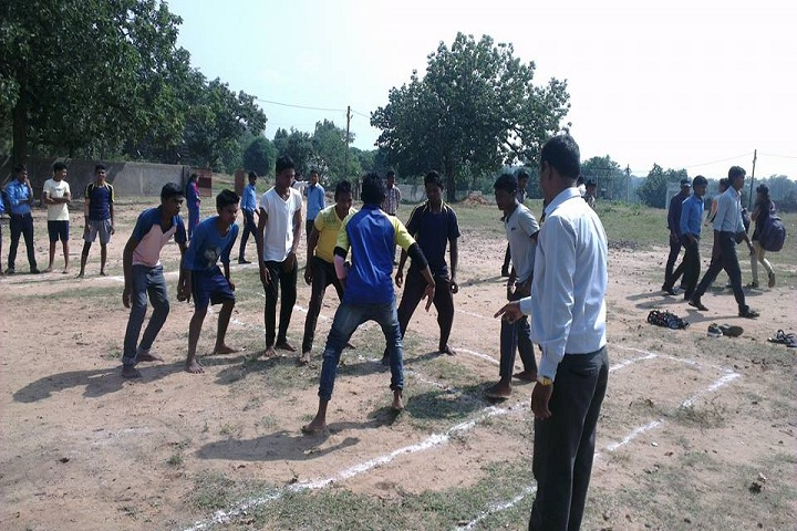 Eklavya Model Residential School-Sports kabbadi