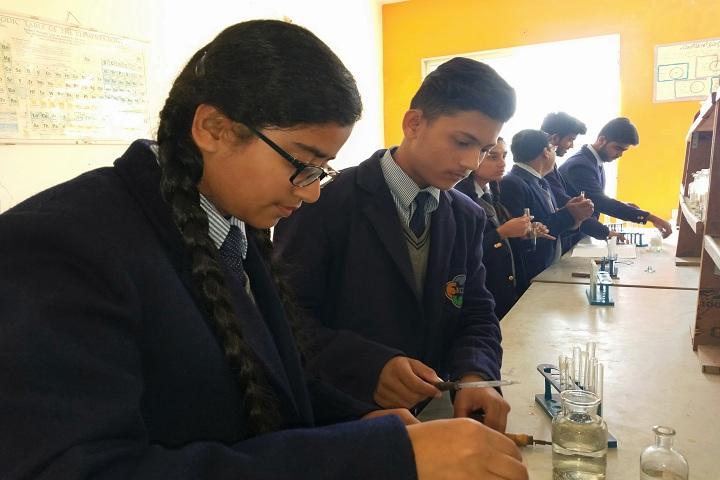 Excellent Circle Of Studies-Chemistry Lab