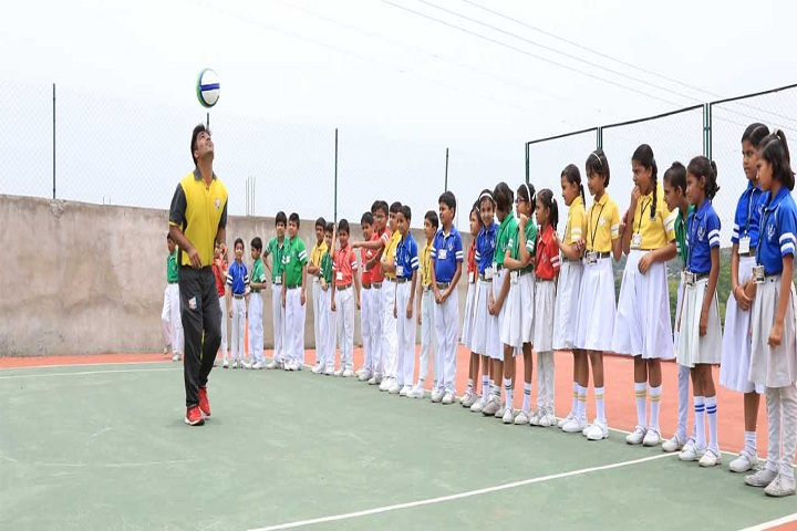 First Step Higher Secondary School-Sports vollyball