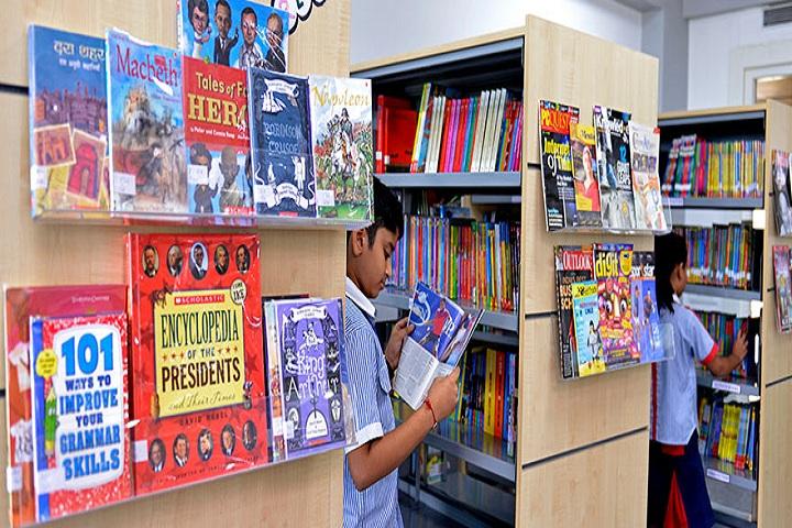 GD Goenka Public School-Library full view