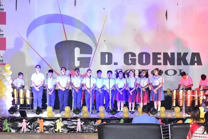 GD Goenka Public School-Events singing