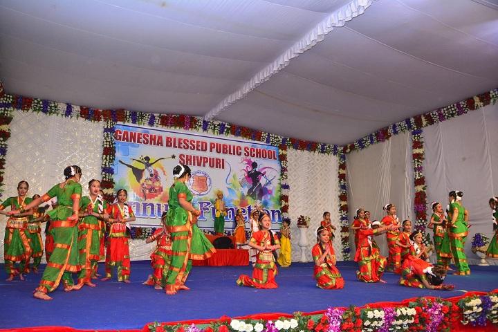 Ganesha Blessed Public School-Events