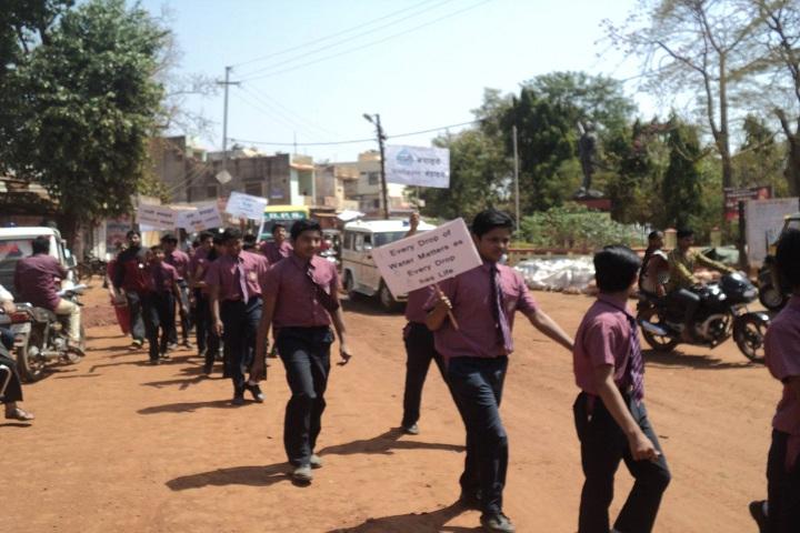 Ganesha Blessed Public School-Rally