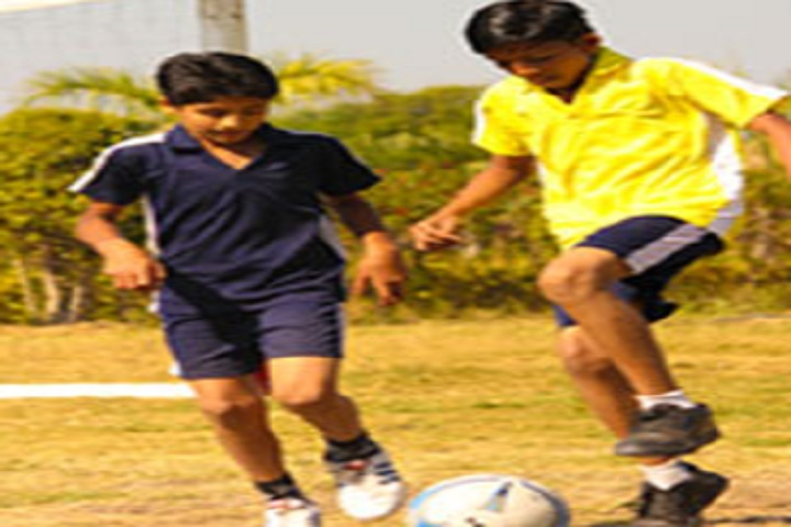 Gautam International Academy-Sports football