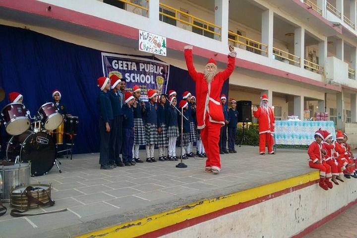 Geeta Public School-Christmas