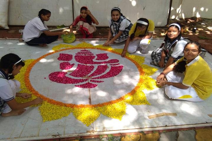 Geeta Public School-Rangoli