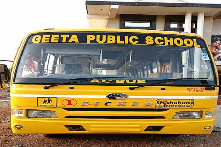 Geeta Public School-Transport