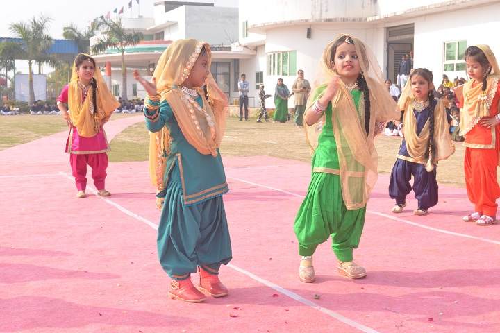 Global International Public School-Punjabi Dance