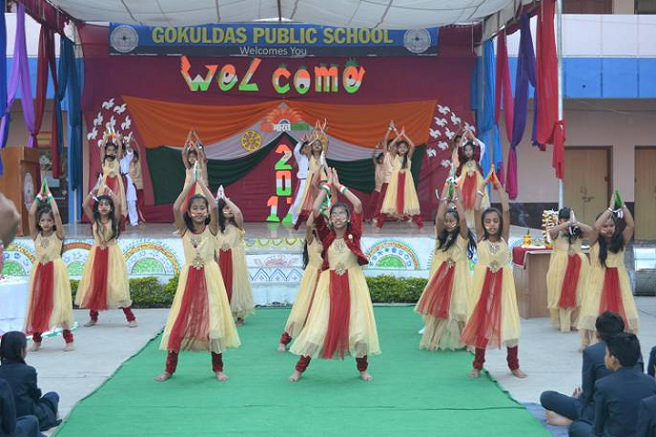 Gokuldass Public School-Republic Day