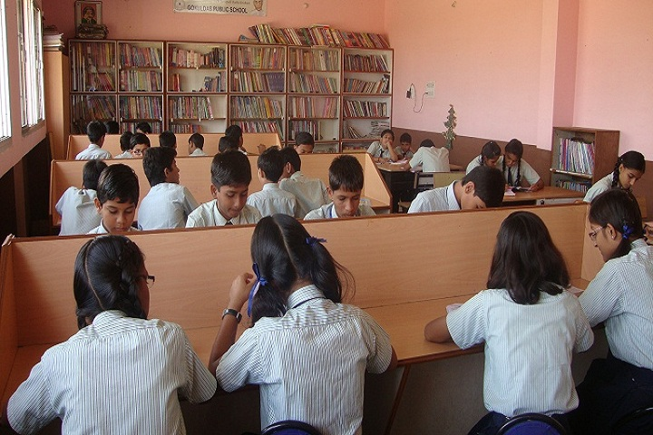 Gokuldass Public School-Library