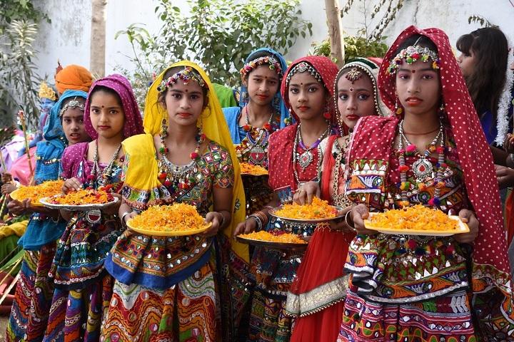 Gomti Nandan Public School-Festival Celebrations
