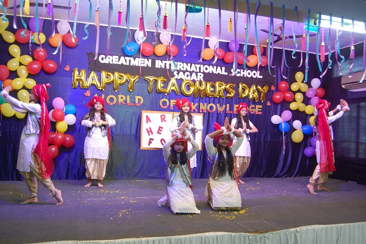 Greatmen International School-Teachers Day Celebrations
