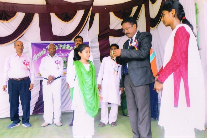 Green Bells Public School English Medium-Prize Distribution