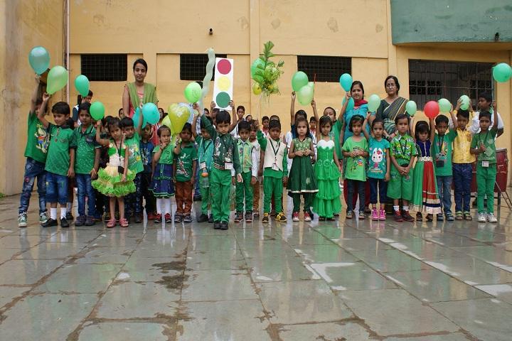 Green Valley School-green day