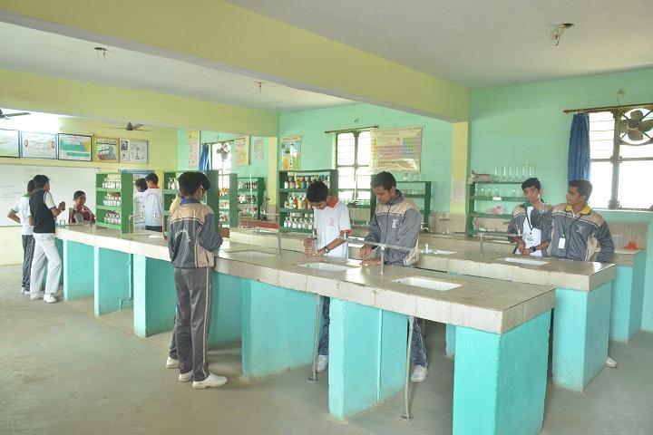 Green Wood Public High School-Chemistry lab