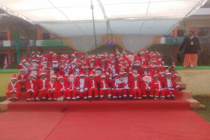 Green Wood Public High School-Christmas celebrations