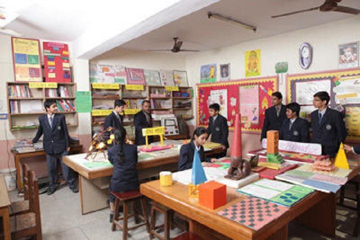Green Wood Public High School-Maths lab