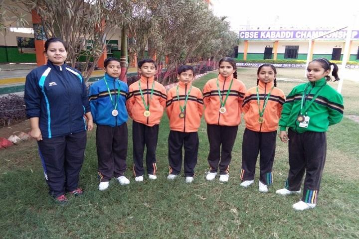Green Wood Public High School-Sports team