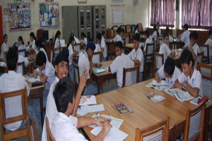 Gurukripa Academy High School-Library