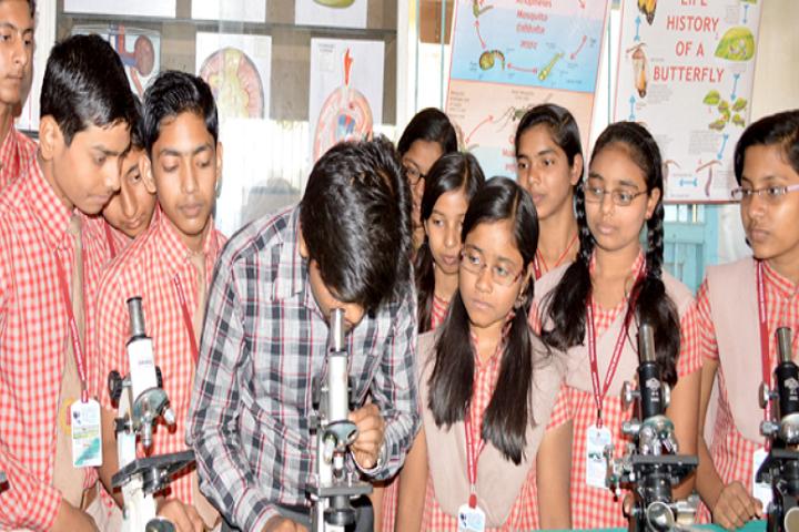 Adwaita Mission High School-Biology Lab