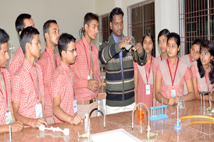 Adwaita Mission High School-Chemistry Lab