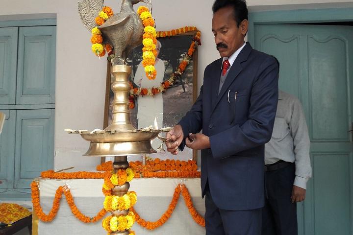 Adwaita Mission High School-Lighting The Lamp