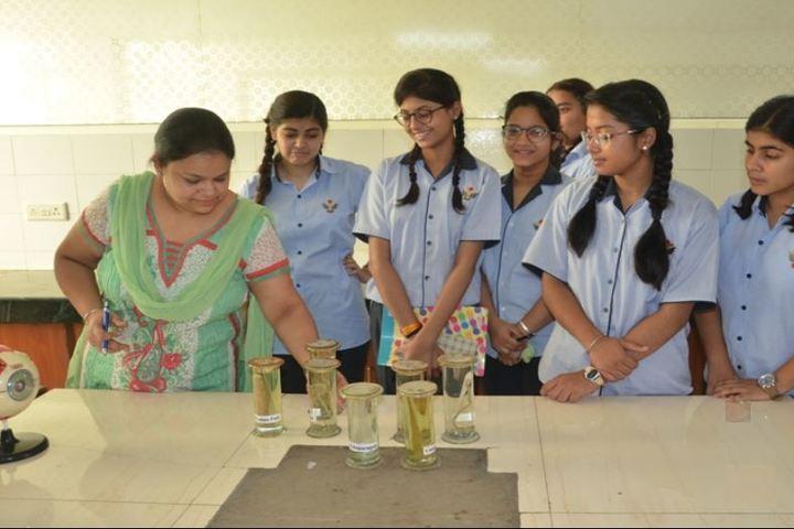 Gwalior Glory High School-Bio lab
