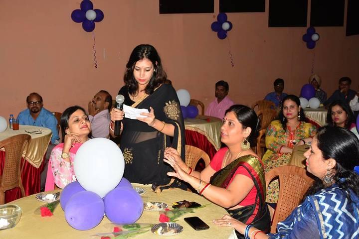 Gyan Ganga International School-Teachers Day Celebrations
