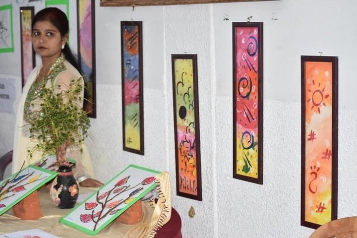 Gyan Ganga International School-Wall Paper Art