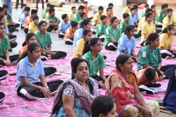 Gyan Ganga International School-Yoga