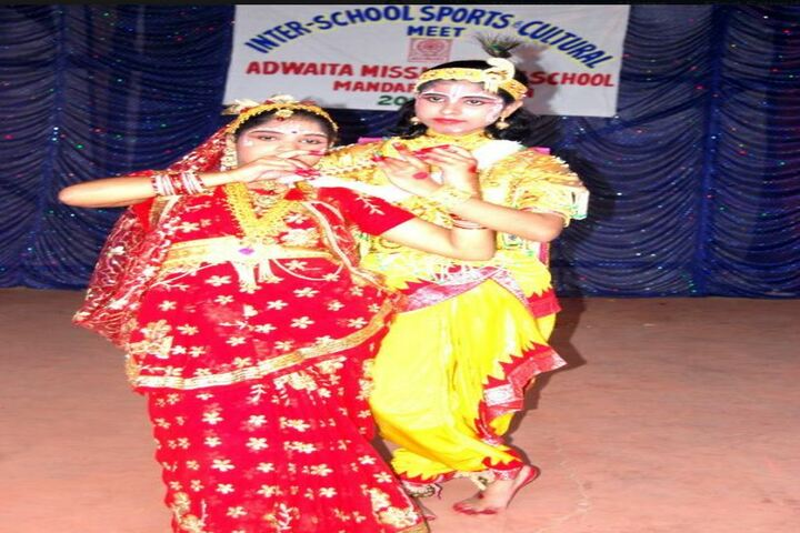 Adwaita Mission High School-Janmashtami Celebrations