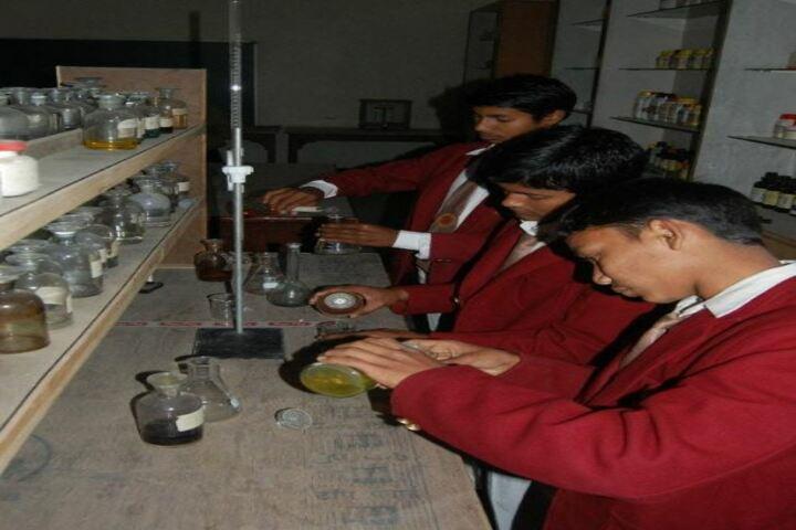 Adwaita Mission High School-Lab