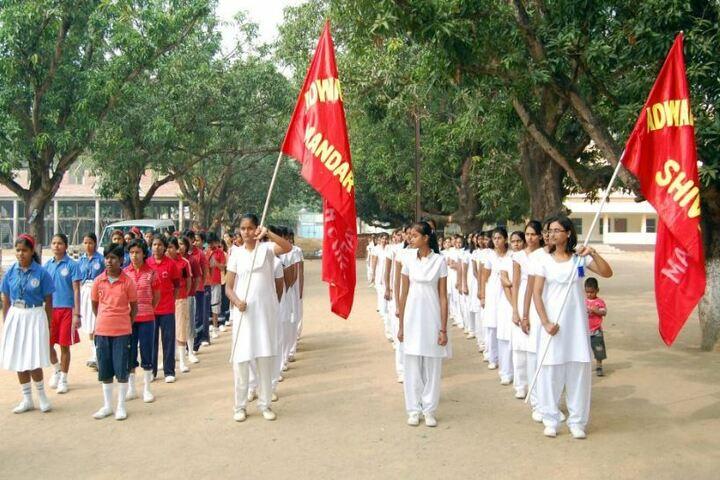 Adwaita Mission High School-March-Past