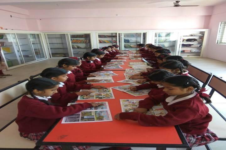 Gyan Sagar Girls International-Library