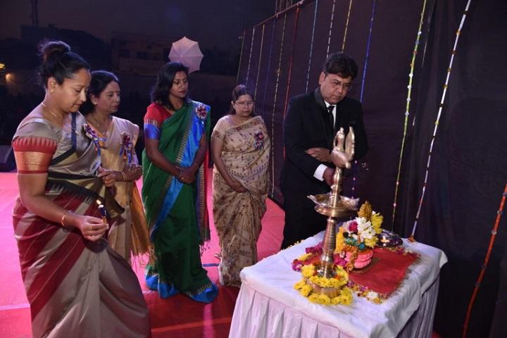 Gyan Sagar Girls International-Lighting The Lamp