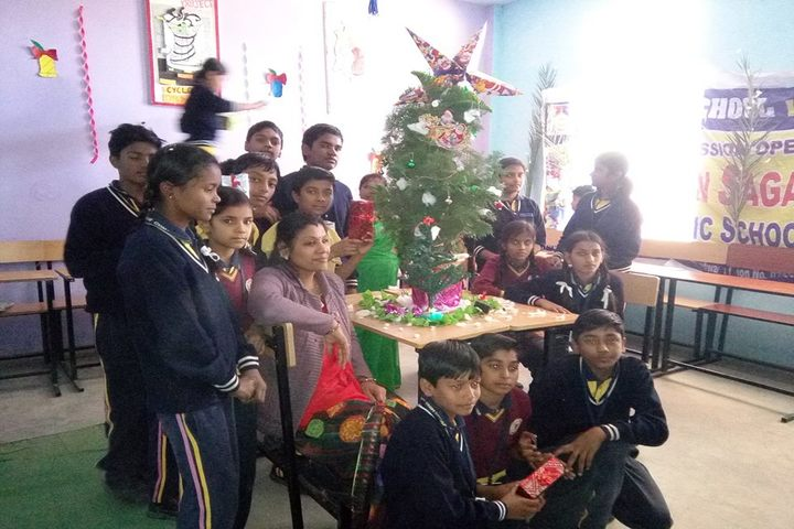 Gyan Sagar Public School-Christmas Celebrations